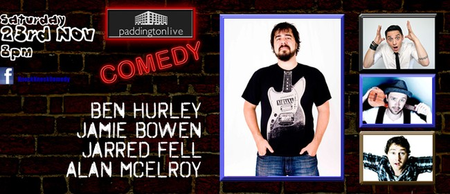 Knock Knock Comedy featuring Ben Hurley