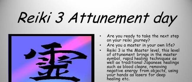 Reiki 3/Master attunement day