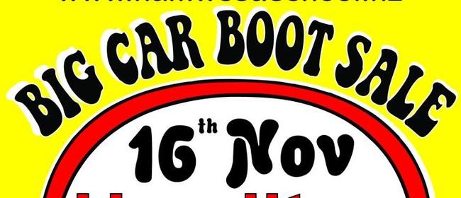 Big Car Boot Sale