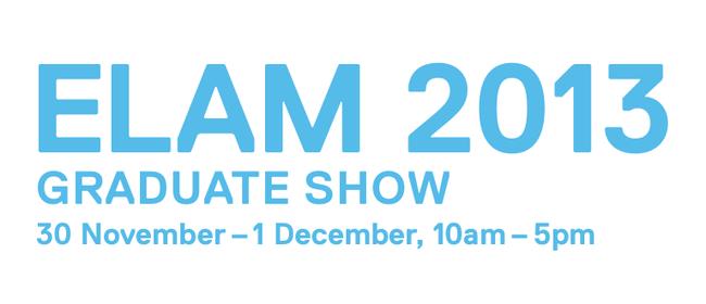 Elam Graduate Show 2013