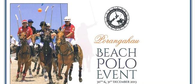 Porangahau Beach Polo Event