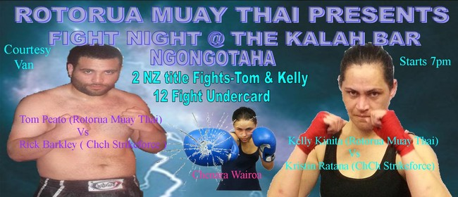 Muay Thai Fight Night At Kalah Bar Rotorua