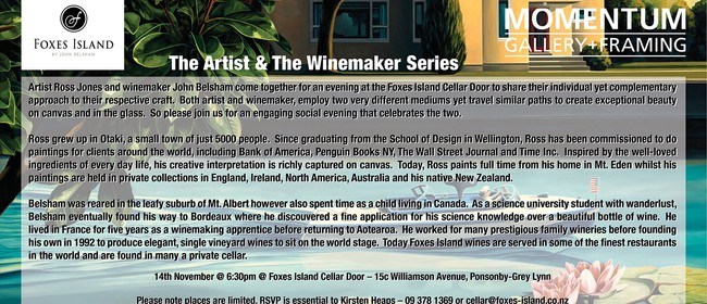 The Artist and the Winemaker Series