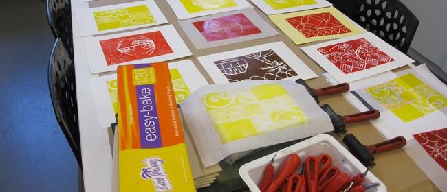 Adult Studio Workshop: Linocut Printmaking