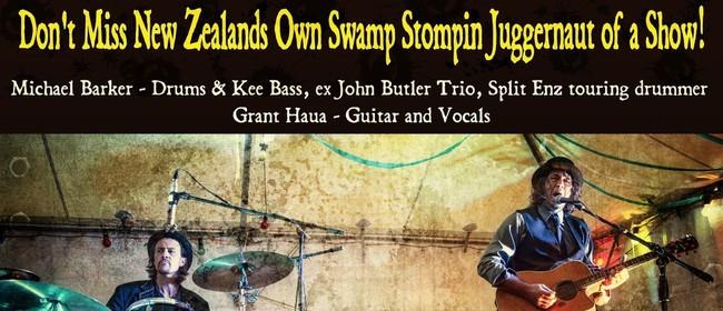 Swamp Thing: A Swamp Stompin Juggernautic Duo