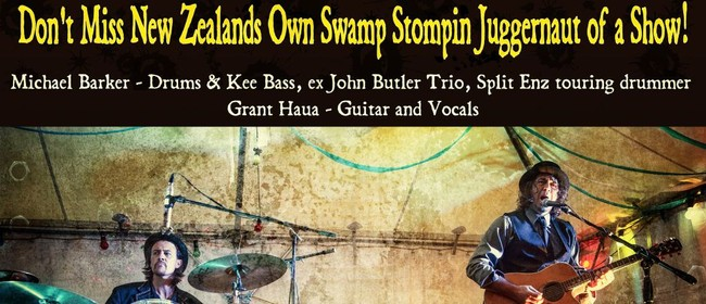 Swamp Thing: A Swamp Stompin Juggernautic Duo
