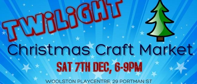 Twilight Christmas Craft Market