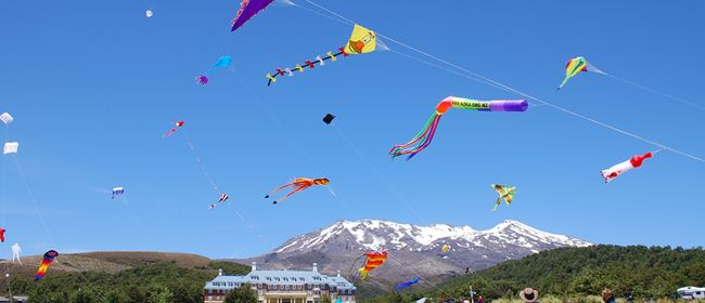 Come Fly with Me. Kite-Flying Day - Mahi Aroha