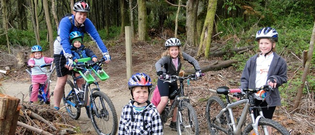 Kids Mountain Bike Day - Mahi Aroha