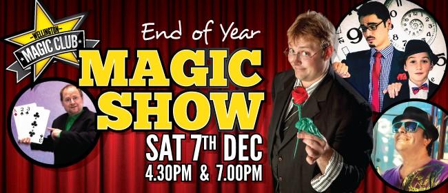 Wellington Magic Club - End of Year Magic Show