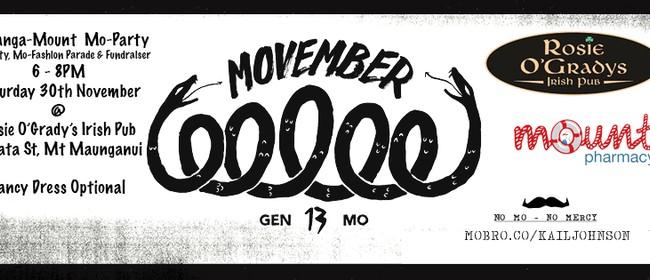 Movember Tauranga & Mount Maunganui Mo-Party