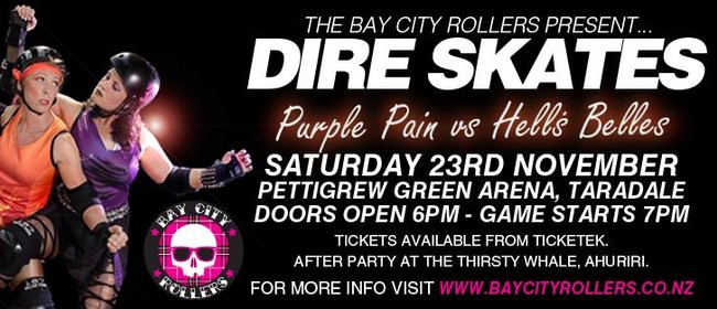The Bay City Rollers present.... Dire Skates!