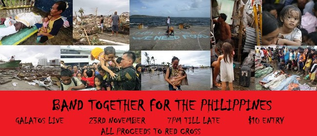 Band Together for the Philippines