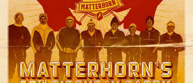 Matterhorn's 50th Birthday Party