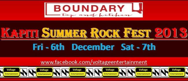 Kapiti Summer Rock Festival 2013