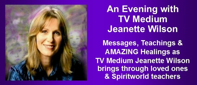 An Evening with TV Medium Jeanette Wilson