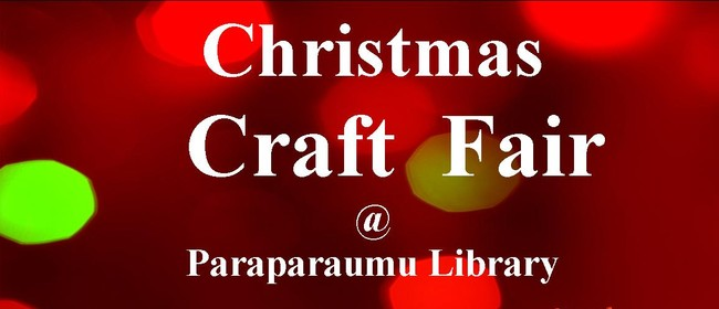 Christmas Craft Fair at Paraparaumu Library