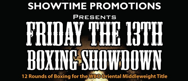 Friday the 13th Boxing Showdown