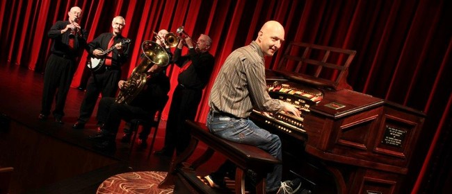 Pipes n Pizzazz: Wurlitzer Pipe Organ & Dixieland Jazzband