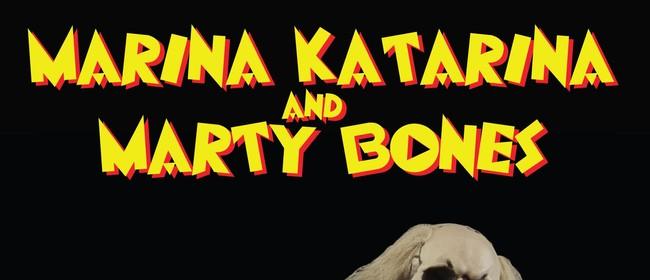 DJs Marina Katarina & Marty Bones