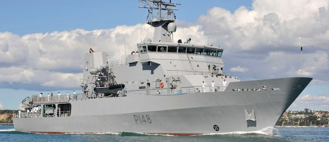 Navy Warship Open to the Public