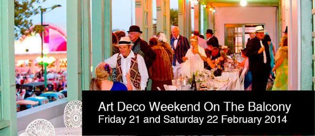 Art Deco Weekend - Saturday Night Celebration on the Balcony