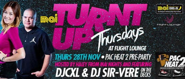Turnt Up Thursdays - Pac Heat 2 Pre-Party