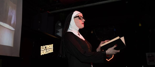 Dr. Sketchy Auckland presents Sister Mary Willow
