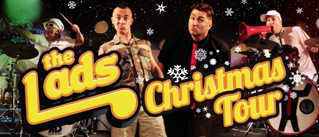 The Lads Christmas Tour