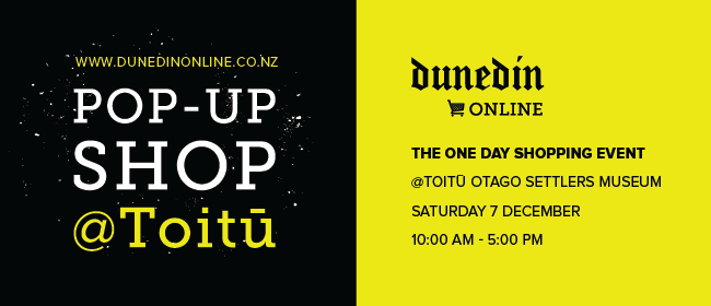 Dunedin Online's Pop-up Shop