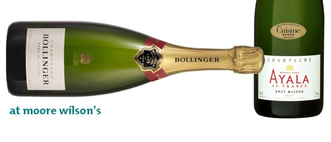 Champagne Tasting - Bollinger and Ayala