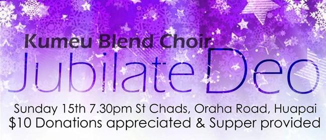 Jubilate Deo - a Christmas Concert with Kumeu Blend Choir