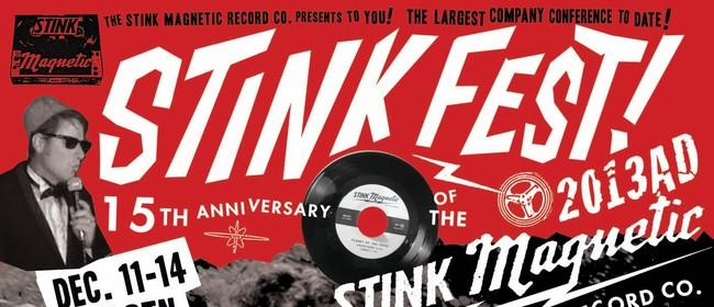 Stink-fest 2013: the Raskolnikovs, Double Ya D, Mono Sonic