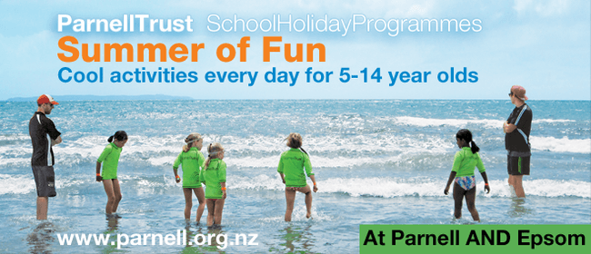 Splash Down - Parnell Trust School Holiday Programme