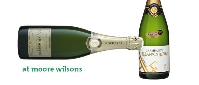 Champagne Tasting - Roederer and Lanvin