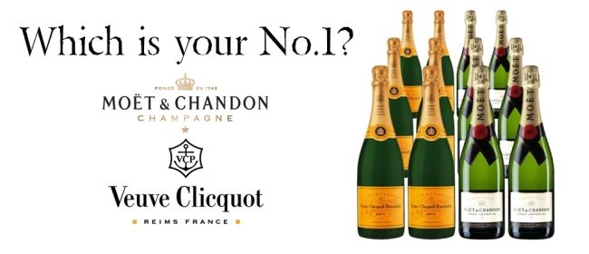 'Champagne Breakfast' - Moet & Chandon and Veuve Clicquot