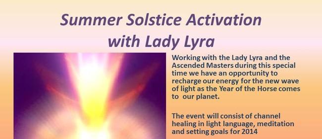 Summer Solstice Activation event