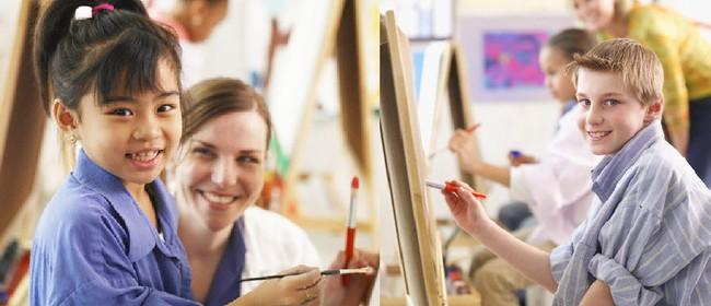Children's Art Holiday Program