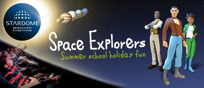 Stardome School Holiday Space Explorers