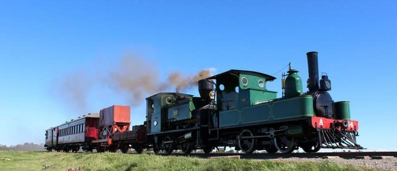 2014 Steampunk NZ Festival: Train Ride