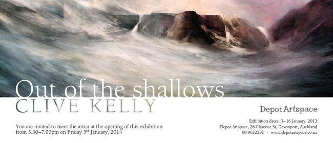 Clive Kelly: Out of the Shallows