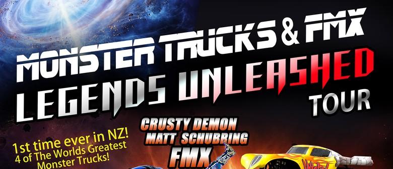 Monster Trucks & FMX Legends Unleashed Tauranga
