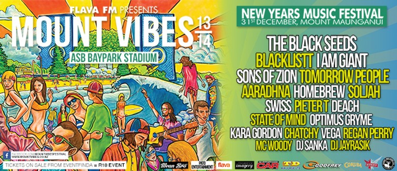 Mount Vibes New Years Eve Music Festival 13/14