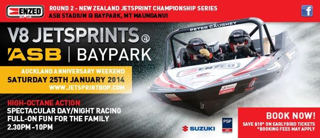 ENZED V8 Jetsprints at ASB Baypark
