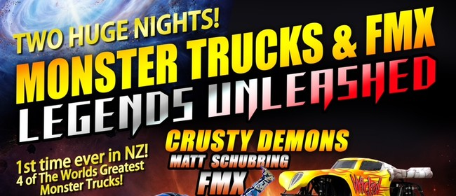 Monster Trucks & FMX Legends Unleashed Onehunga