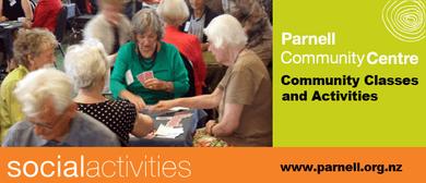 Social Activity: Bridge - Evening (Parnell St Johns Bridge C