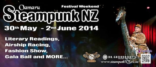 2014 Steampunk NZ Festival: Absinthe Night