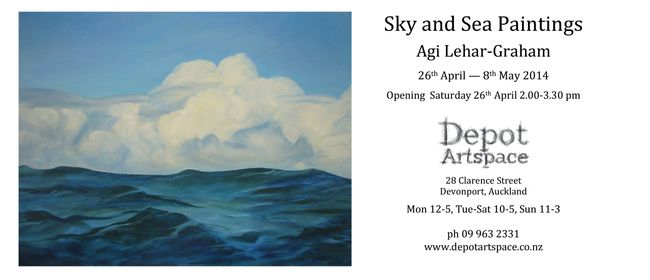 Agi Lehar-Graham: Sky and Sea Paintings