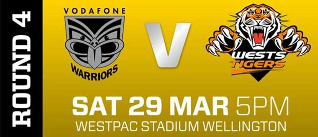 Vodafone Warriors v Wests Tigers