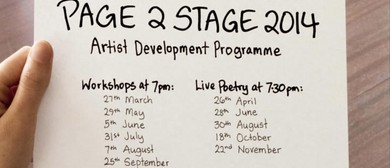 Page2Stage2014 - Workshops